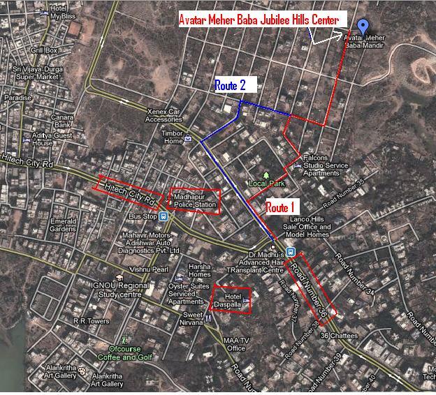 Centers In Hyderabad « Avatar Meher Baba Hyderabad Center