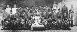 Baba_with_School_Boys