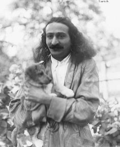 Baba_with_puppy_1930s