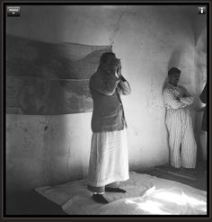 Meher Baba himself participating in the Universal and Repetance prayers with Mandali